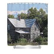 Charming Country Home Shower Curtain