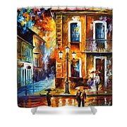 Charming Night Shower Curtain
