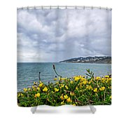 Charmouth Overlook Shower Curtain