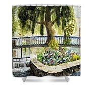 Chartres France Scene Shower Curtain