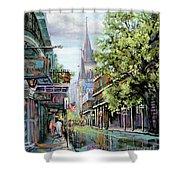 Chartres Rain Shower Curtain