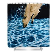 Chase 2 Shower Curtain