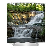 Chase Falls Shower Curtain