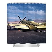 Chase Plane Shower Curtain
