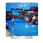 Chase Sea Shower Curtain
