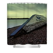 Chasewater Glow Shower Curtain