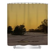 Chasewater Evening Shower Curtain