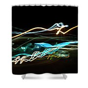 Chasing Cars Shower Curtain