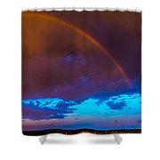 Chasing Nebraska Lightning 005 Shower Curtain