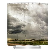 Chasing Nebraska Stormscapes 045 Shower Curtain