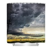 Chasing Nebraska Stormscapes 047 Shower Curtain