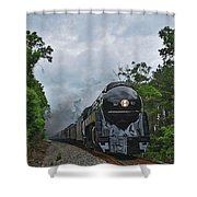 Chasing The 611 Shower Curtain