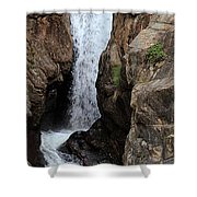 Chasm Falls 2 - Panorama Shower Curtain