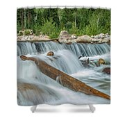 Chasm Falls Shower Curtain