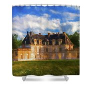 Chateau D'acquigny  Shower Curtain