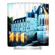 Chateau De Chenonceau Shower Curtain