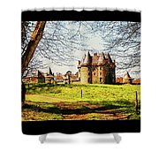 Chateau De Landale Shower Curtain