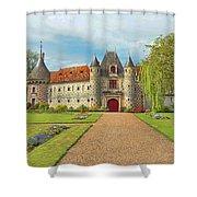 Chateau De Saint-germain-de-livet, Normandy, France Shower Curtain