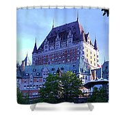 Chateau Frontenac, Montreal Shower Curtain