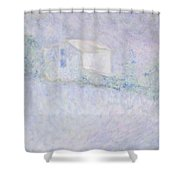 Chateau - House In France Shower Curtain