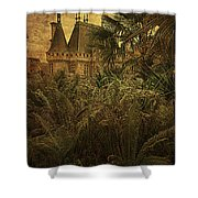 Chateau In The Jungle Shower Curtain