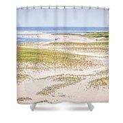 Chatham Lighthouse Beach Shower Curtain