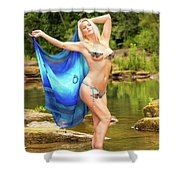 Chattahoochee Meditation Dance Shower Curtain