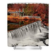 Chattahoochee River Helen Ga 002 Shower Curtain