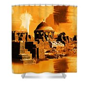Chaukhandi Tombs Shower Curtain