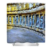 Chausath Yogini Temple Shower Curtain