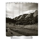 Chautauqua Night Path 2 Shower Curtain