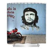 Che Bike  Shower Curtain