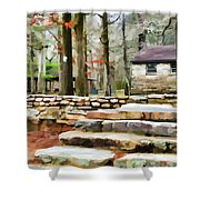 Cheaha State Park In The Fall Shower Curtain
