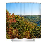 Cheat River Shower Curtain