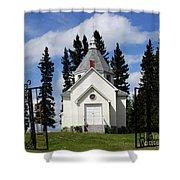 Chechow Holy Spirit Church 1  Shower Curtain
