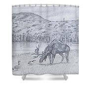Check This Out Shower Curtain