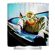 Cheech Marin In Boat Shower Curtain