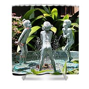 Cheekwood Fountain Shower Curtain