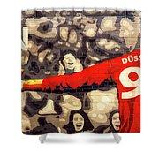 Cheer For Dusseldorf Shower Curtain