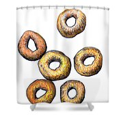 Cheerios 2 Shower Curtain