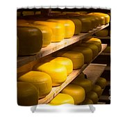 Cheese Factory Shower Curtain
