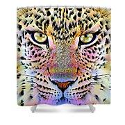 Cheetah Vi Shower Curtain