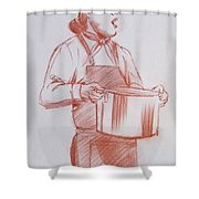 Chef 6 Shower Curtain