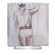 Chef 7 Shower Curtain