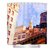 Chelsea Water Tower Shower Curtain