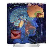 Chemotherapy-induced Nausea And Vomiting Shower Curtain
