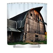 Chequamegon National Forest Barn Shower Curtain