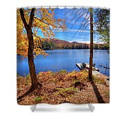 Cherished View Shower Curtain