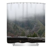Cherokee Lookout Shower Curtain