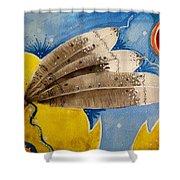 Cherokee Medicine Shower Curtain